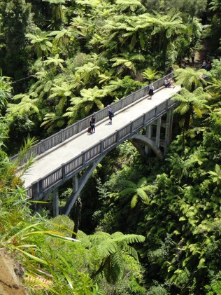 New Zealand. The Bridge to Nowhere, Whanganui River.
