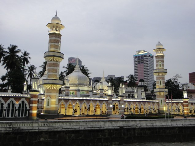 Malaysia, Jamek Mosque, Kuala Lumpur