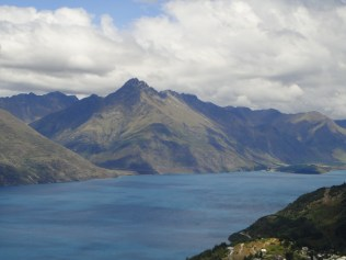 New Zealand. Lake Wakatipu, Queenstown.