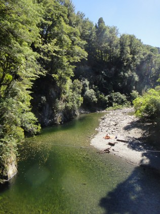 New Zealand. Eastern Hutt River, (near the set of Rivendell), Kaitoke Regional. Park, Upper Hutt