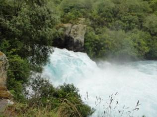 New Zealand. Huka Falls, Waikato River, Taupo.