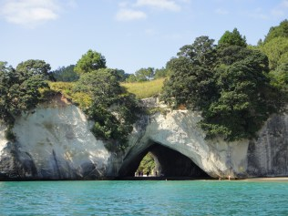 New Zealand. Cathedral Cove, Whitianga, Coromandel.