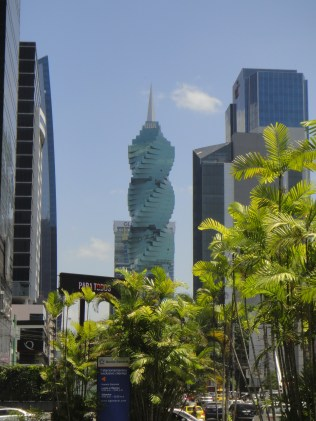 Panama. F&F Tower, Panama City.