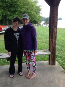 Me and AMy Tyrrell, owner of Atlanta SUP & Yoga