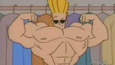 Johnny Bravo cartoon