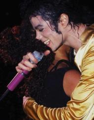 MJ hug