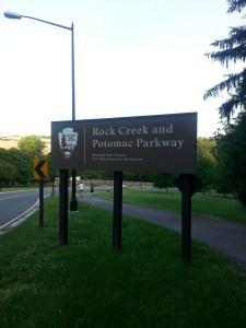 Rock Creek and Potomac Parkway DC