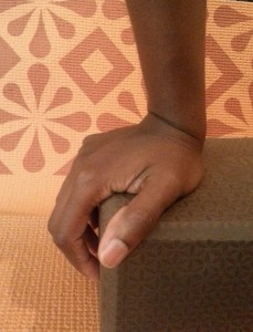 alleviate wrist pain during yoga by using props and strengthening wrists and hands