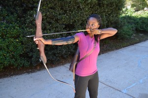 black female archers