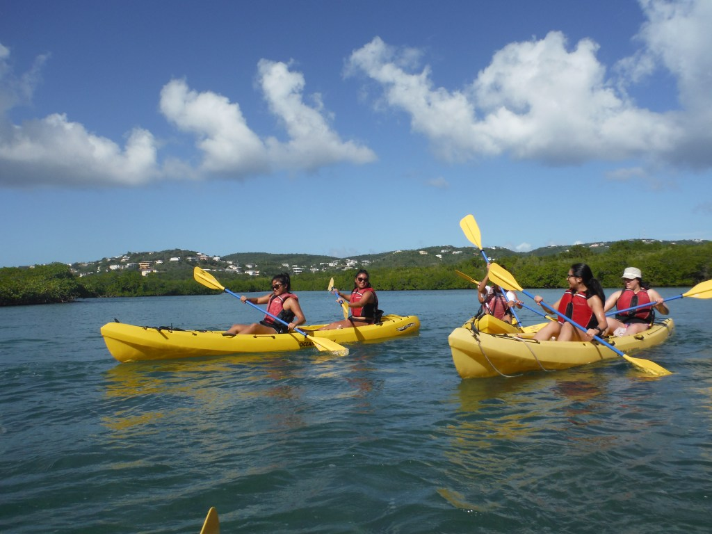 kayaking in virgin islands