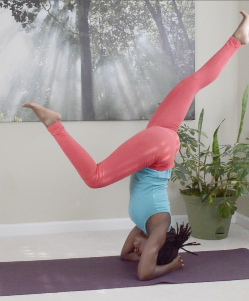 yoga headstands