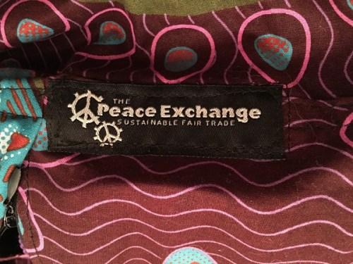 batik fabric yoga mat bags