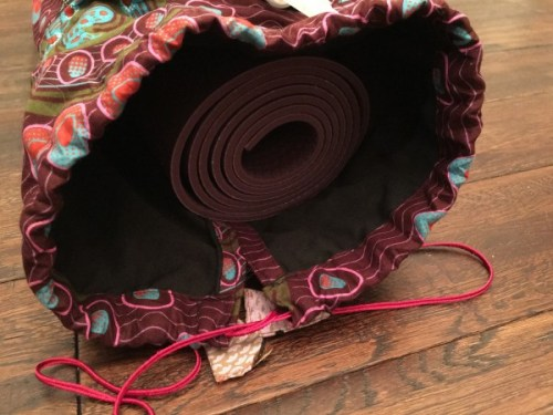 fair trade yoga mat bag