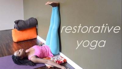 tutorials for restorative yoga