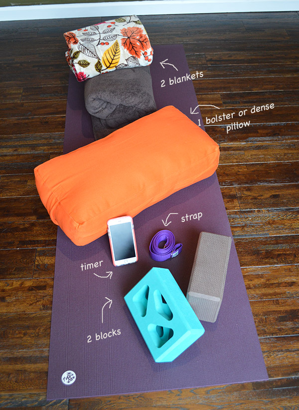 yin yoga props