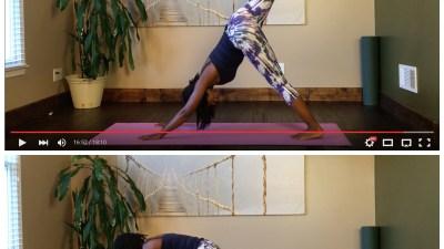 yoga flow to tone abs