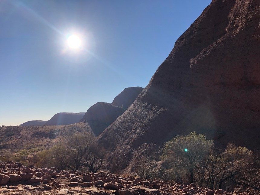 adventure travel with Erica Rascon at Kata Tjuta