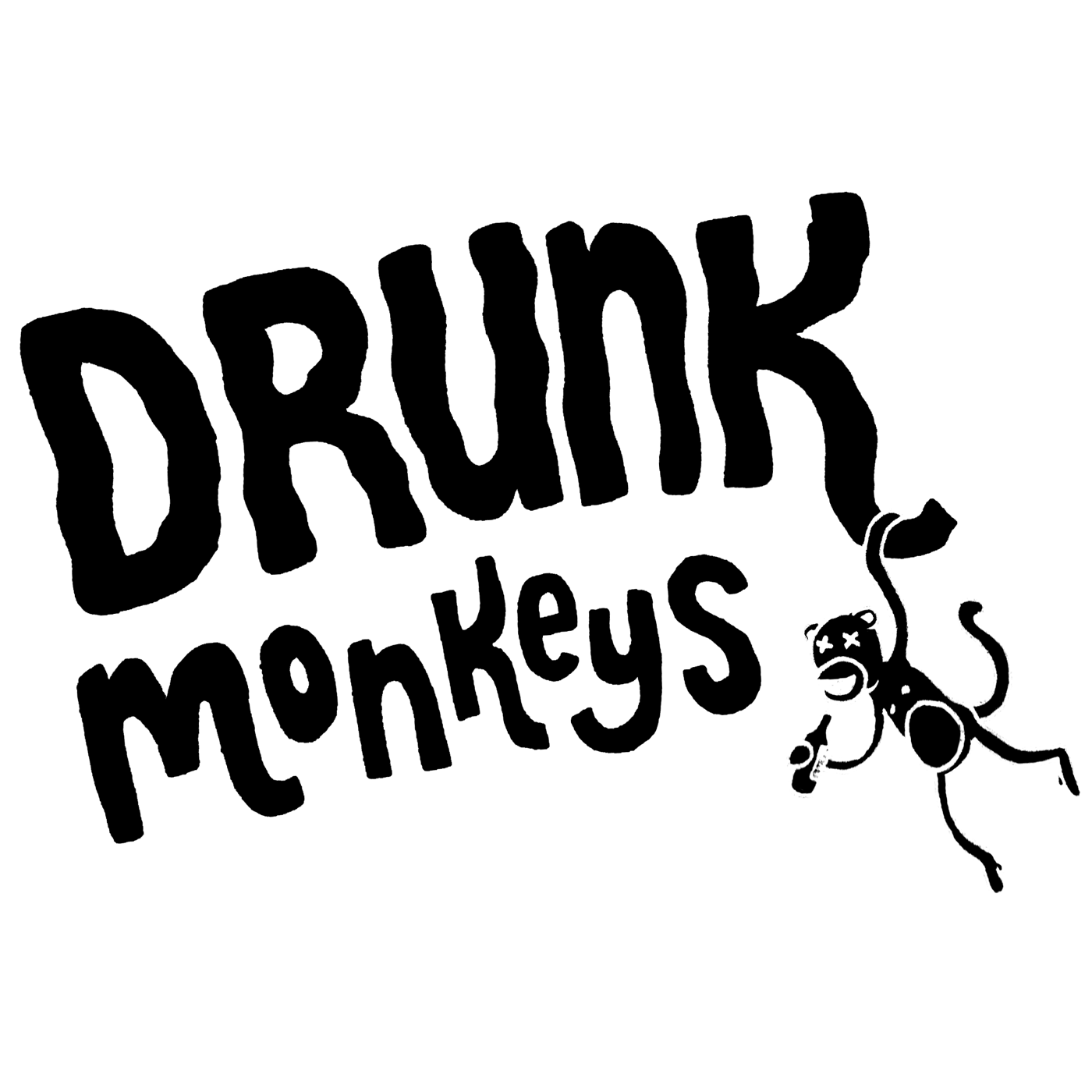 Drunk Monkey Logo