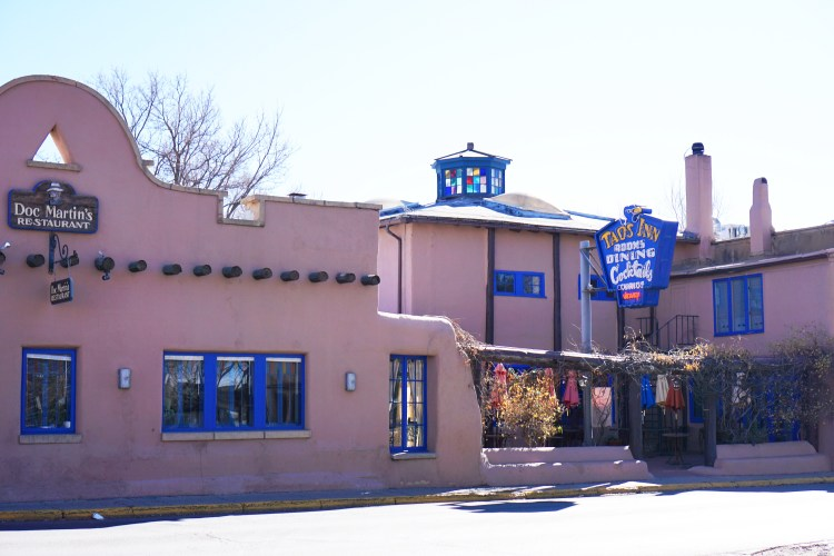 Taos Inn featuring Doc Martin's Restaurant, Taos, New Mexico, USA © 2018 ericarobbin.com | All rights reserved.