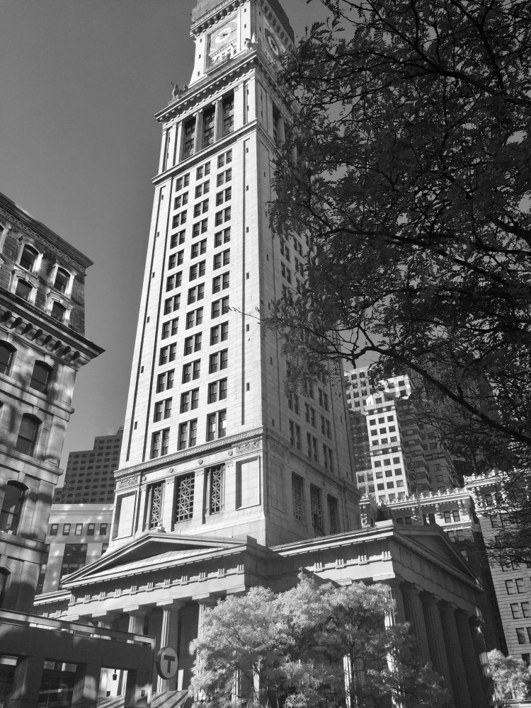 The Marriott Custom House Clock Tower, Boston Massachusetts, USA © 2018 ericarobbin.com | All rights reserved.