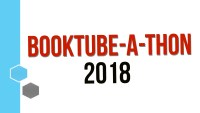 BookTube-A-Thon 2018 © 2018 ericarobbin.com | All rights reserved.