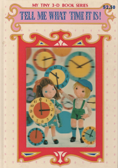 Tell Me What Time It Is! My Tiny 3-D Book Series, photo courtesy of Playmore Publishing