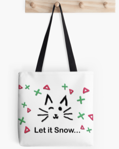 Let it Snow... Tote Bag © 2018 ericarobbin.com | All rights reserved.