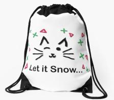 Let it Snow... Drawstring Bag © 2018 ericarobbin.com | All rights reserved.