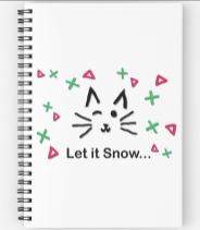 Let it Snow... Spiral Notebook © 2018 ericarobbin.com | All rights reserved.