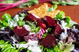Marinated Beet Salad with Horseradish Dill Dressing © 2018 ericarobbin.com | All rights reserved.