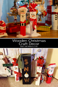 Wooden Christmas Craft Decor Family © 2018 ericarobbin.com | All rights reserved.