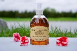 Trader Joe's French Liquid Orange Blossom Honey Hand and Body Soap © 2019 ericarobbin.com   All rights reserved.