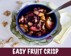 Easy Fruit Crisp © 2019 ericarobbin.com | All rights reserved.