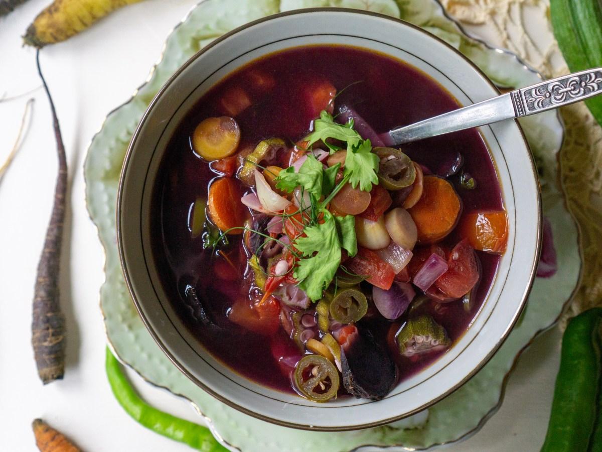 Garden Medley Soup | Erica Robbin