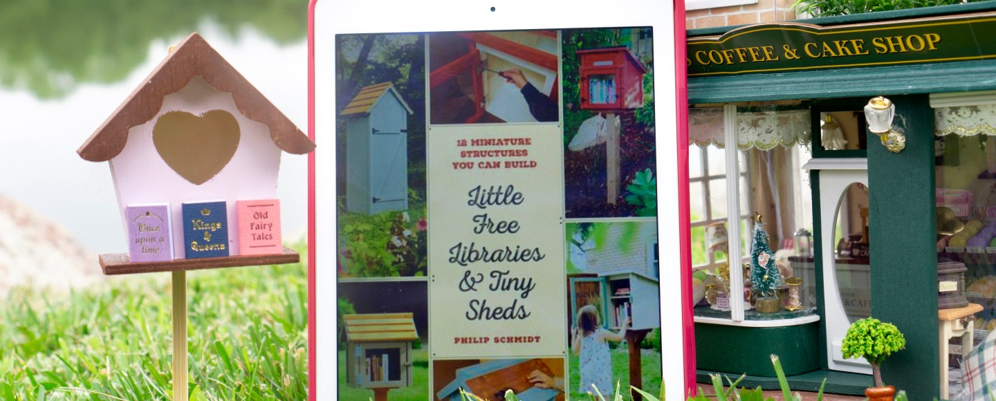 Little Free Libraries and Tiny Sheds: 12 Miniature Structures You Can Build to Enhance Your Yard or Neighborhood by Philip Schmidt   Erica Robbin