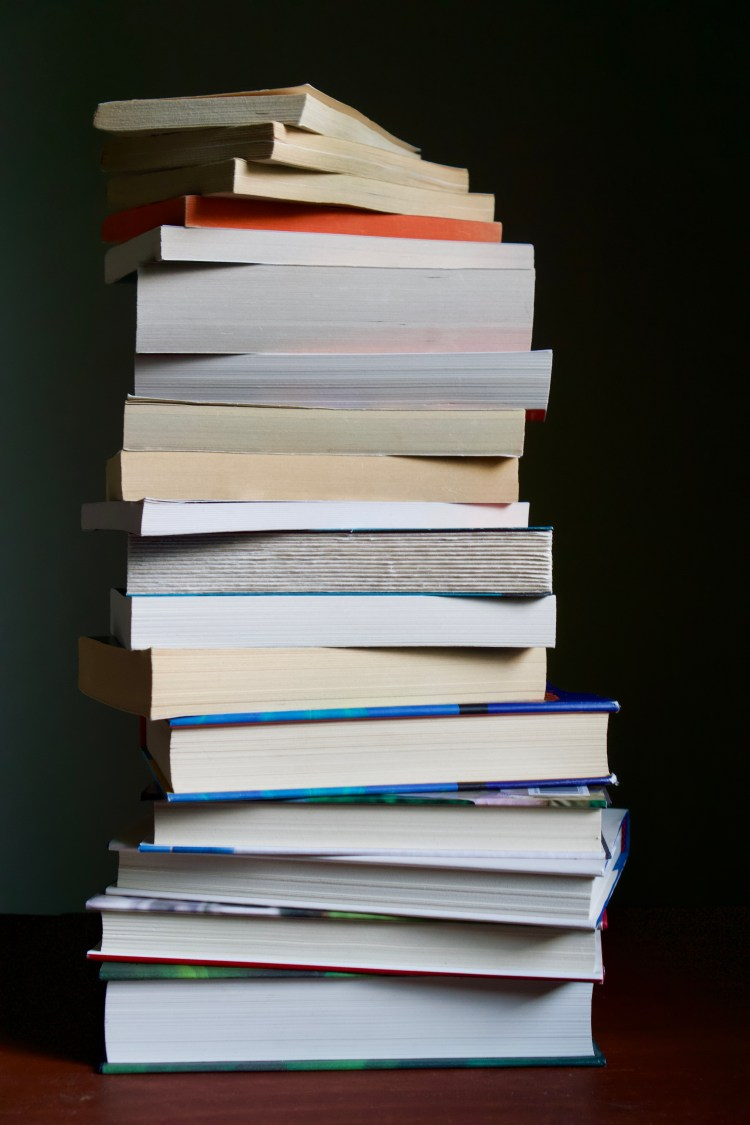 Stack of Books | Erica Robbin