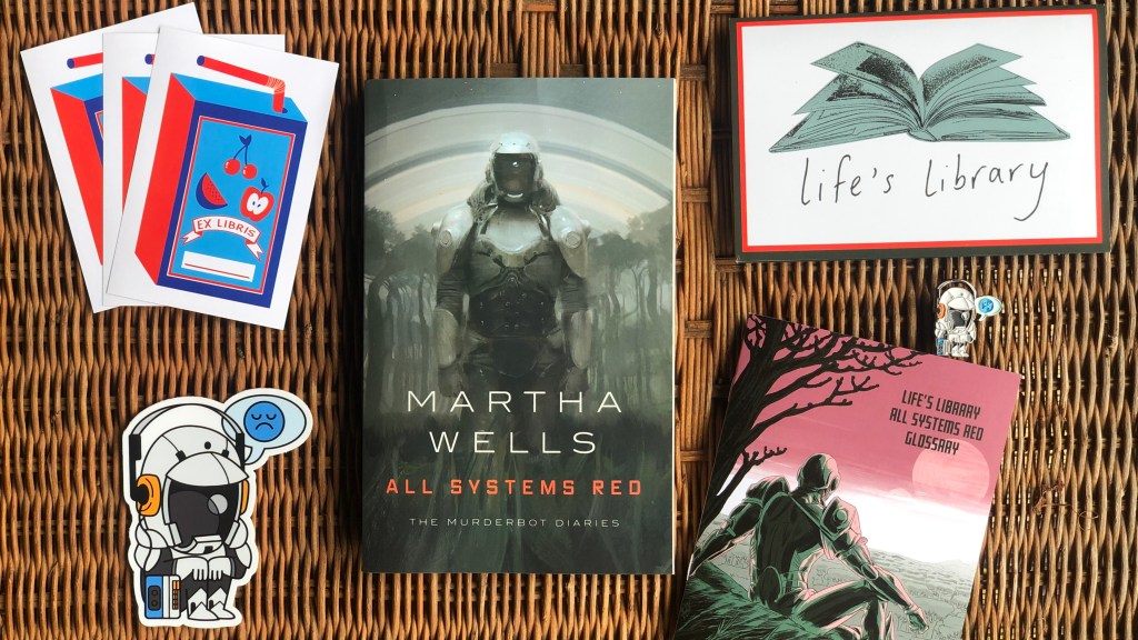 All Systems Red (The Murderbot Diaries #1) by Martha Wells | Erica Robbin