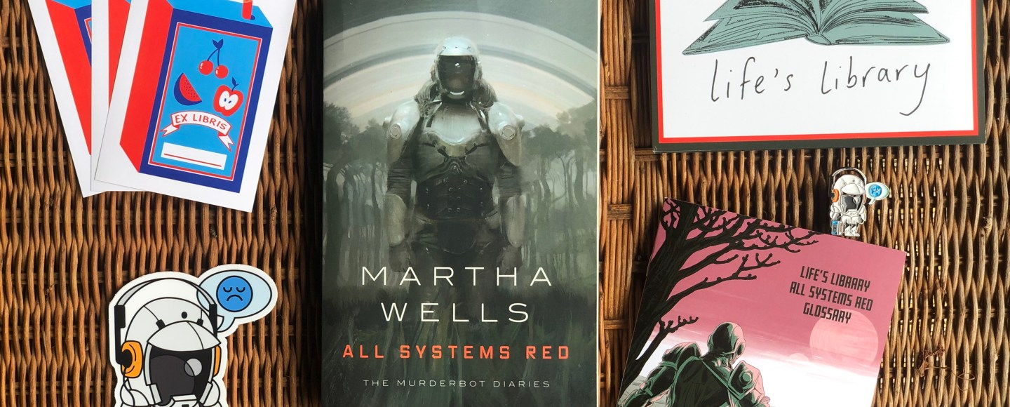 All Systems Red (The Murderbot Diaries #1) by Martha Wells   Erica Robbin