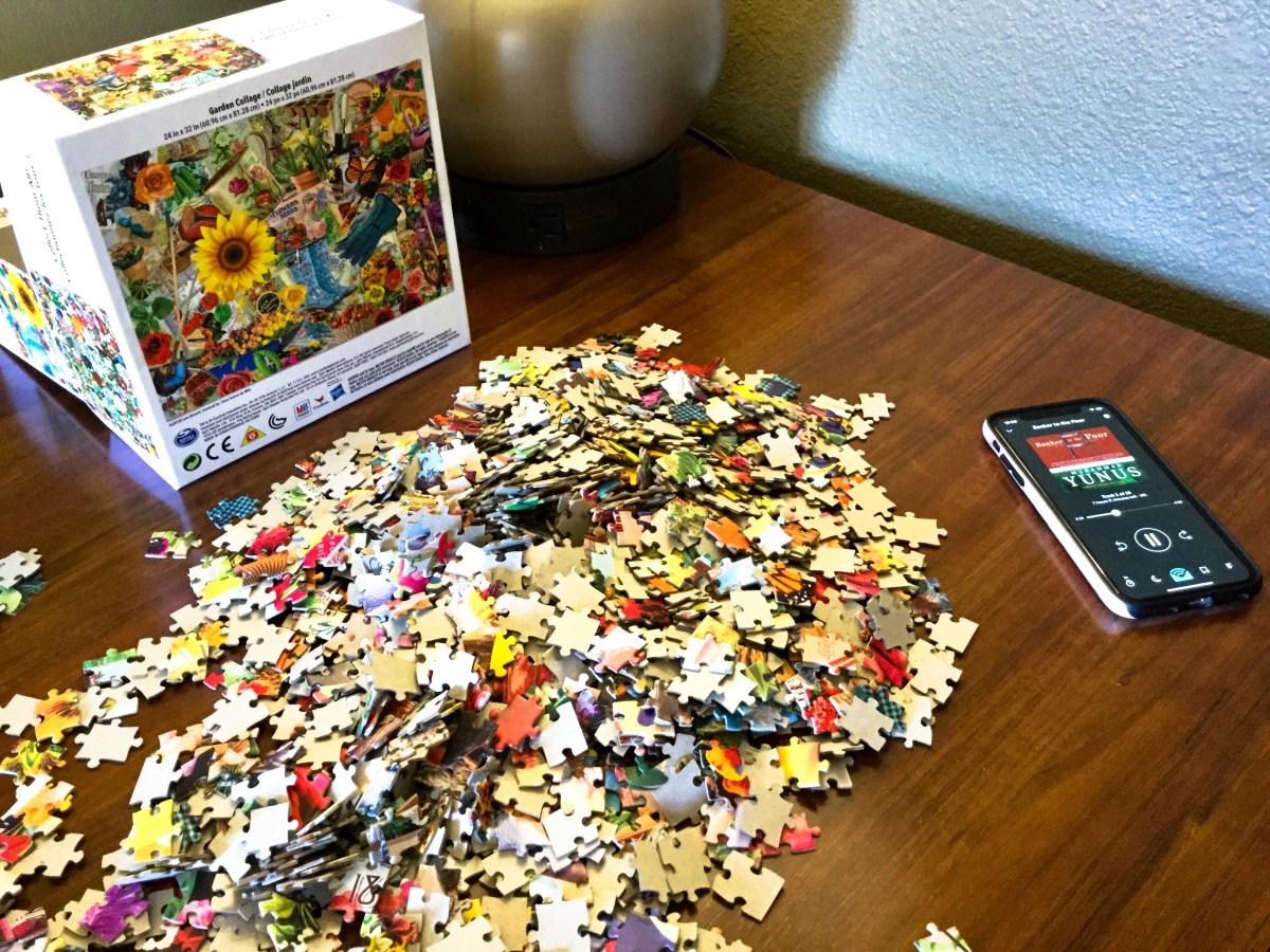 Garden Puzzle | Erica Robbin