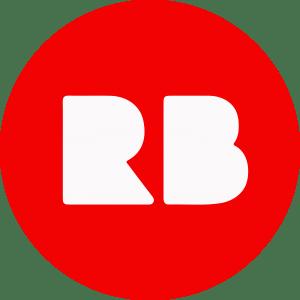 Red Bubble Social Media Icon