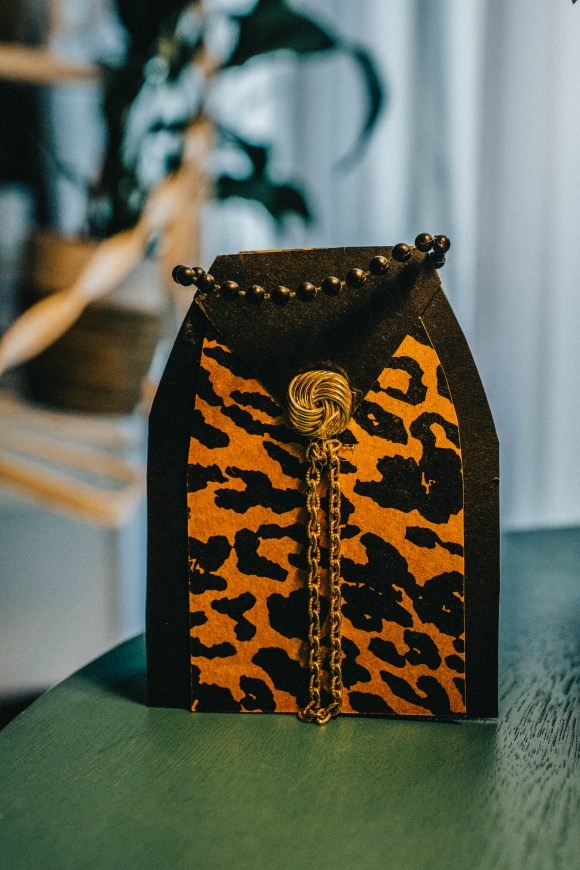 Animal Print Purse Card | Erica Robbin