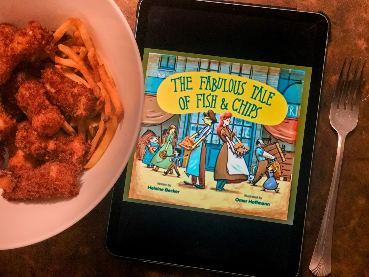 The Fabulous Tale of Fish and Chips by Helaine Becker | Erica Robbin