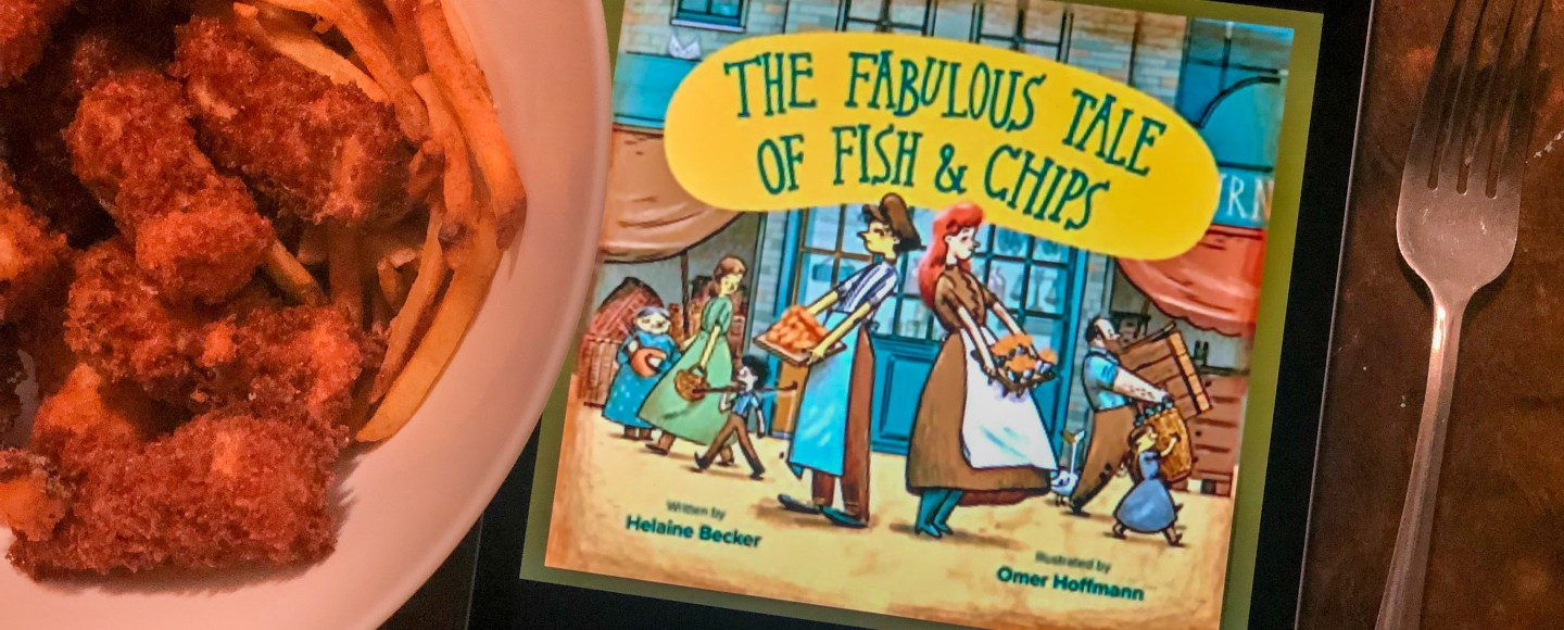 The Fabulous Tale of Fish and Chips by Helaine Becker, Omer Hoffmann