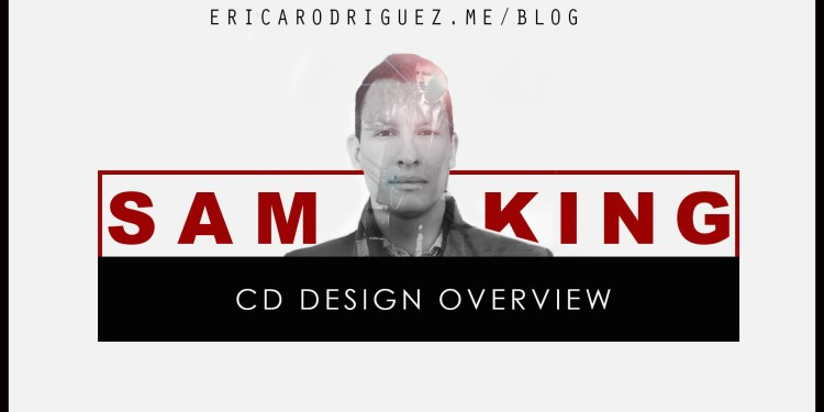 Latest project: Sam King Album Design Overview
