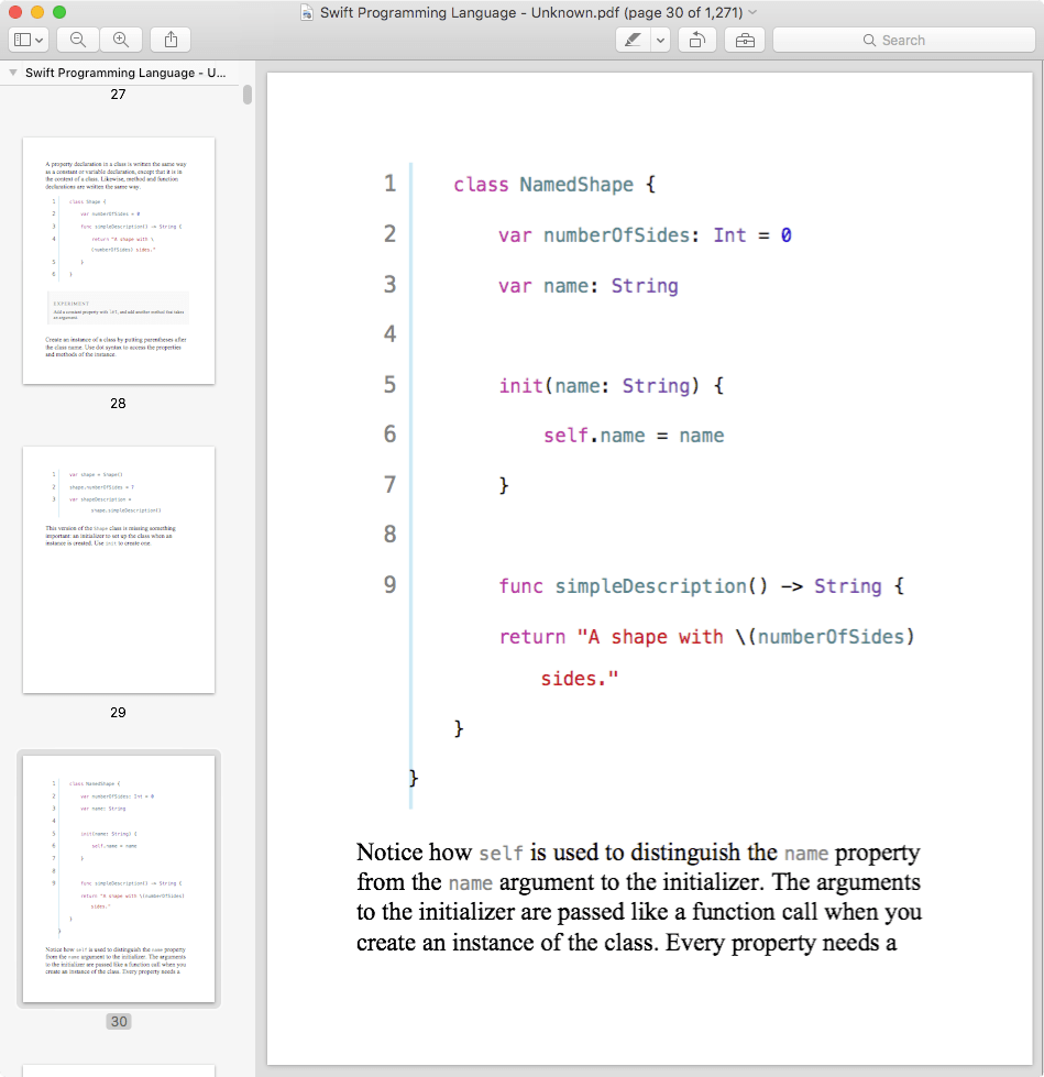 Swift Programming Language Book Pdf