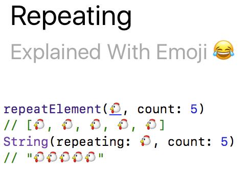 repeating
