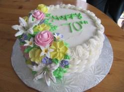 70th Cake
