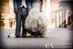 Bridal & Groom dress detail Village Northstar at Tahoe, CA