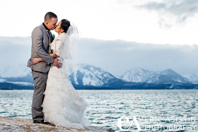 South Lake Tahoe winter weddings by Eric Asistin Photography