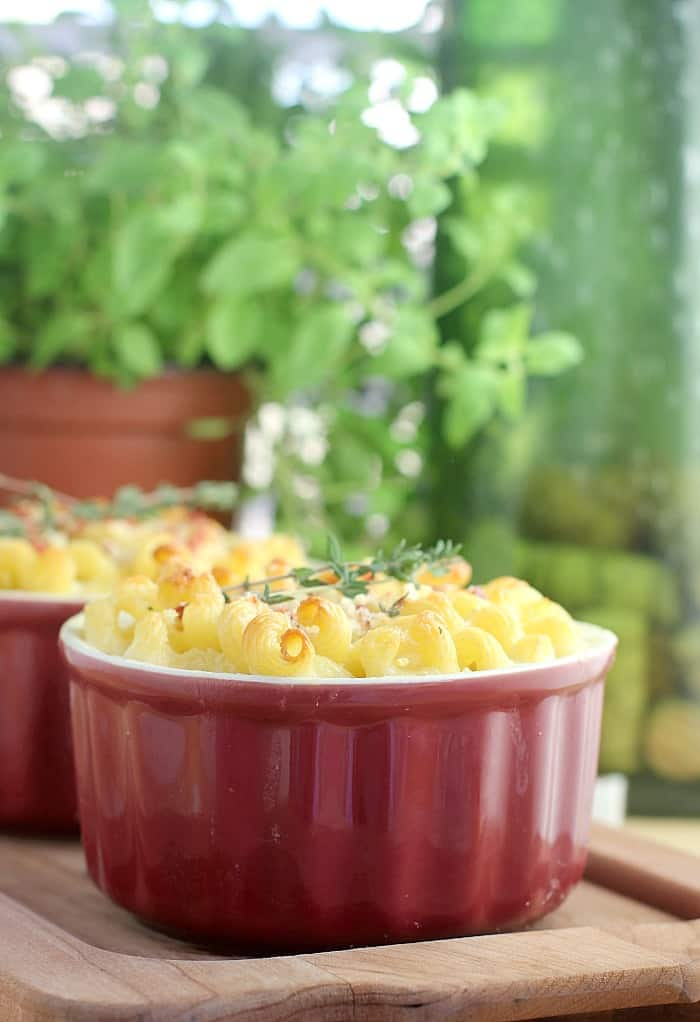Wine and Thyme Macaroni and Cheese http://wp.me/p4qC4h-vE